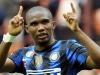 Это'О празднует гол в ворота Лацио