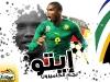 В форме сборной Камеруна. Молодой