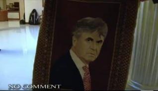В Дагестане Хиддинку подарили ковер с его изображением