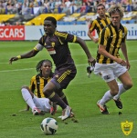«Анжи» пробился в плей-офф Лиги Европы