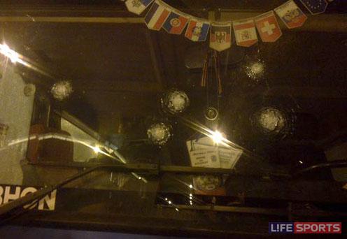 """На фанатов """"Анжи"""" напали в Санкт-Петербурге. Фото: L!feSports"""
