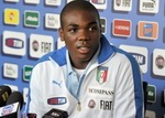 «Анжи» может приобрести защитника сборной Италии Анджело Огбонна